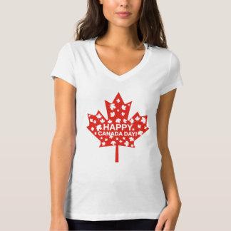 Camiseta Celebración del día de Canadá