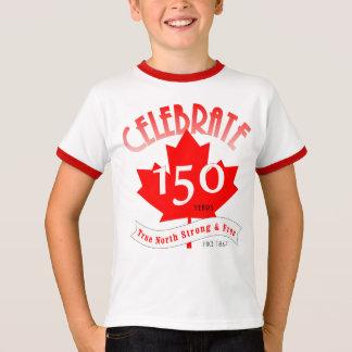 Camiseta Celebre Canadá 150 años