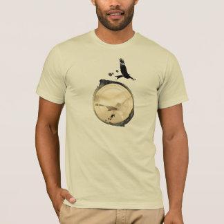 Camiseta Central del ALA DELTA HG-CIRCLE 006 Ponto