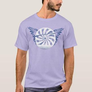 Camiseta Central del ALA DELTA HG-CIRCLE 007 Ponto
