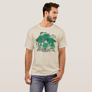 Camiseta Central del PARAGLIDING PG-CIRCLE 003 Ponto