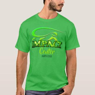 Camiseta Centro del impacto - diseño de la iguana