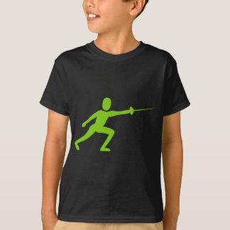 Camiseta Cercando la figura - verde de Martian