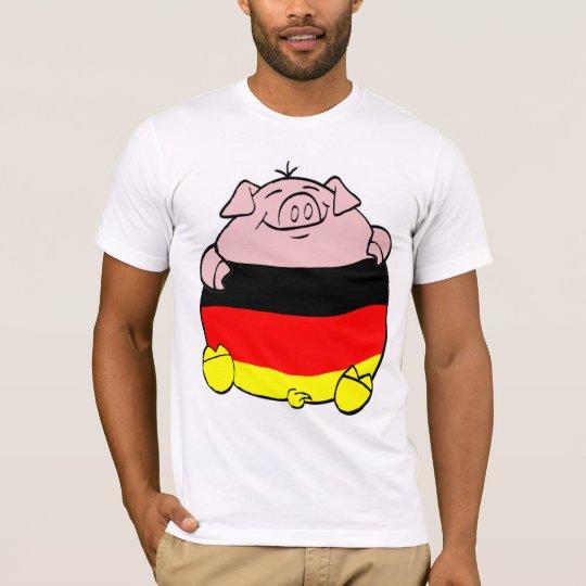 Camiseta Cerdo alemán