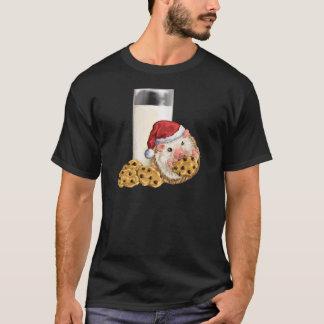 Camiseta Cerdo de la galleta del navidad