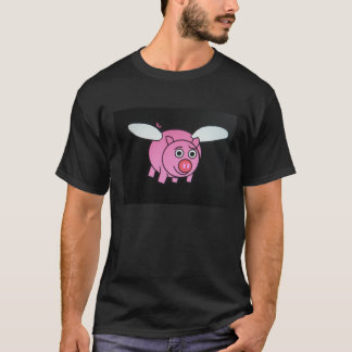 Camiseta Cerdo del vuelo