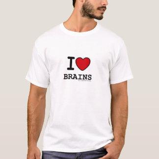 Camiseta cerebros del *heart* i