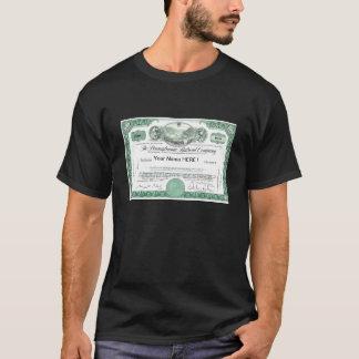 Camiseta Certificado común del ferrocarril de Pennsylvania