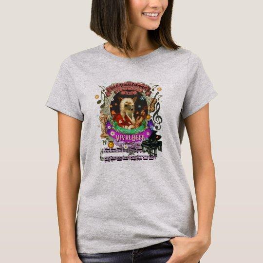 Camiseta Cervatillo animal de los ciervos del compositor de