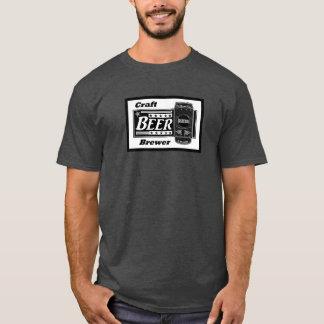 Camiseta Cervecero de la cerveza del arte - estrellas de la