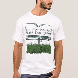 Camiseta Cerveza, ahora más barata que el gas