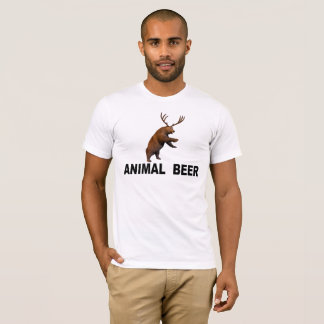 Camiseta Cerveza animal