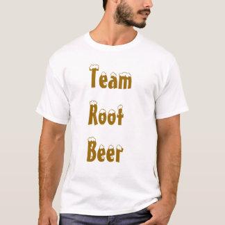 Camiseta Cerveza de raíz del equipo