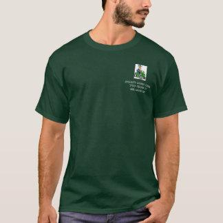 Camiseta césped que siega, cuidado del césped de Jason