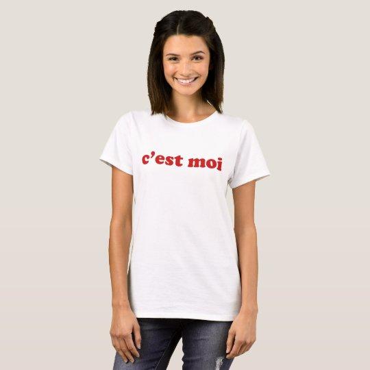 Camiseta C'est moi
