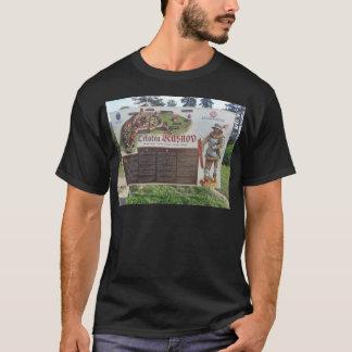 Camiseta Cetatea Rasnov, Rumania. Mapa histórico de la