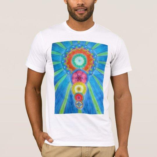 Camiseta Chakras que asciende