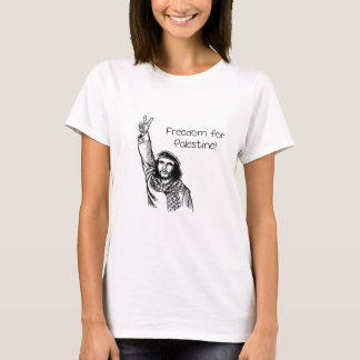 Camiseta ¡Che Guevara, libertad para Palestina!