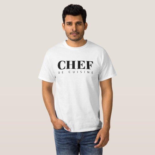 Camiseta CHEF de cuisine