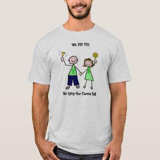 Camiseta Chemo Bell - hombre de la cinta del verde del