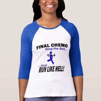 Camiseta Chemo final corre mucho - cáncer de colon
