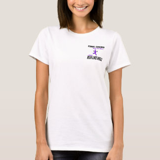 Camiseta Chemo final corre mucho - la cinta violeta