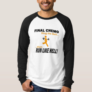 Camiseta Chemo final corre mucho - leucemia