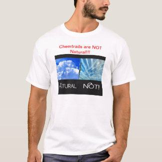 Camiseta Chemtrails no natural