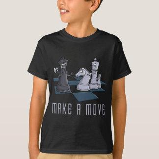 Camiseta chess, a make move