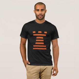Camiseta ¡ChessME! Lo contrario negro