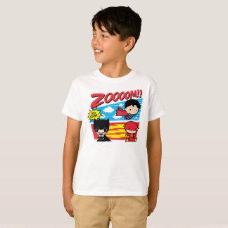 Camiseta ¡Chibi Batman demasiado lento!