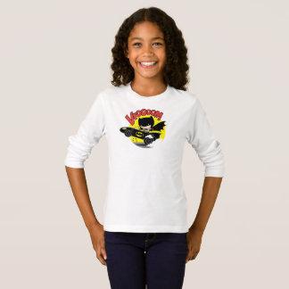 Camiseta Chibi Batman en el Batmobile