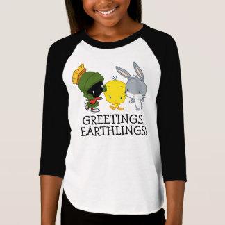 Camiseta Chibi MARVIN el ™ de MARTIAN™, de TWEETY™, y de