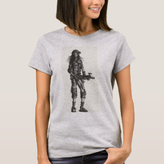Camiseta Chica 2482 del soldado
