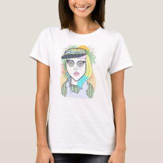 Camiseta Chica de California del inconformista