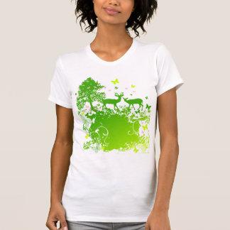 Camiseta Chica de la naturaleza