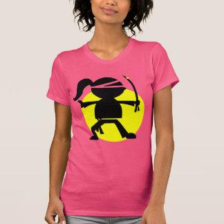Camiseta Chica de Ninja