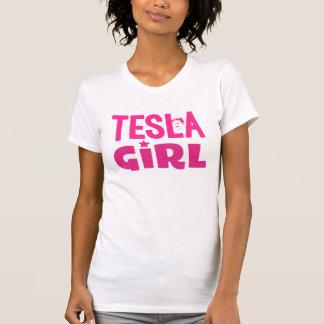 Camiseta Chica de Tesla