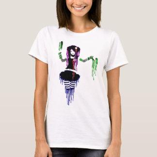 Camiseta chica del emo