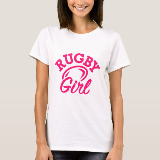 Camiseta Chica del rugbi