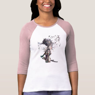 Camiseta Chica del samurai
