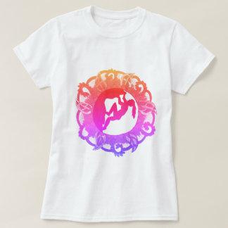 Camiseta Chica del zen de la escalada