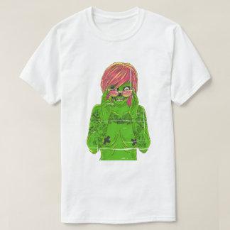 Camiseta chica del zombi