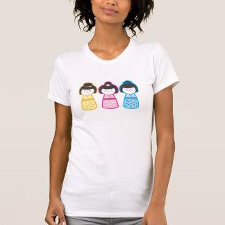 Camiseta Chicas de Kokeshi