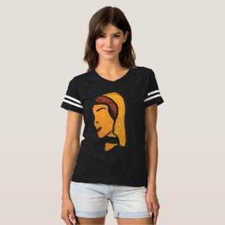 Camiseta chicas del fútbol