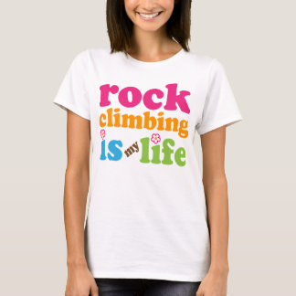 Camiseta Chicas del regalo del escalador de roca