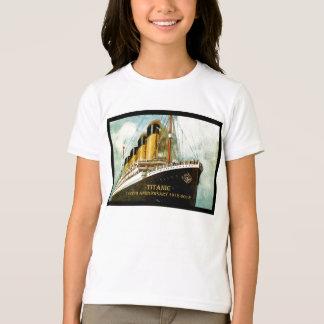 Camiseta Chicas titánicos T del aniversario del RMS 100os