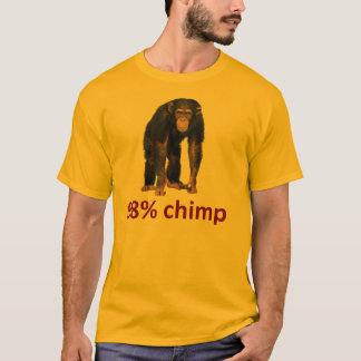Camiseta chimpancé del 98%