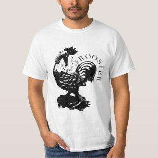 Camiseta china de los hombres de la silueta del