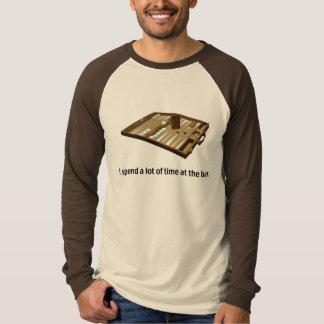 Camiseta Chiste del backgammon
